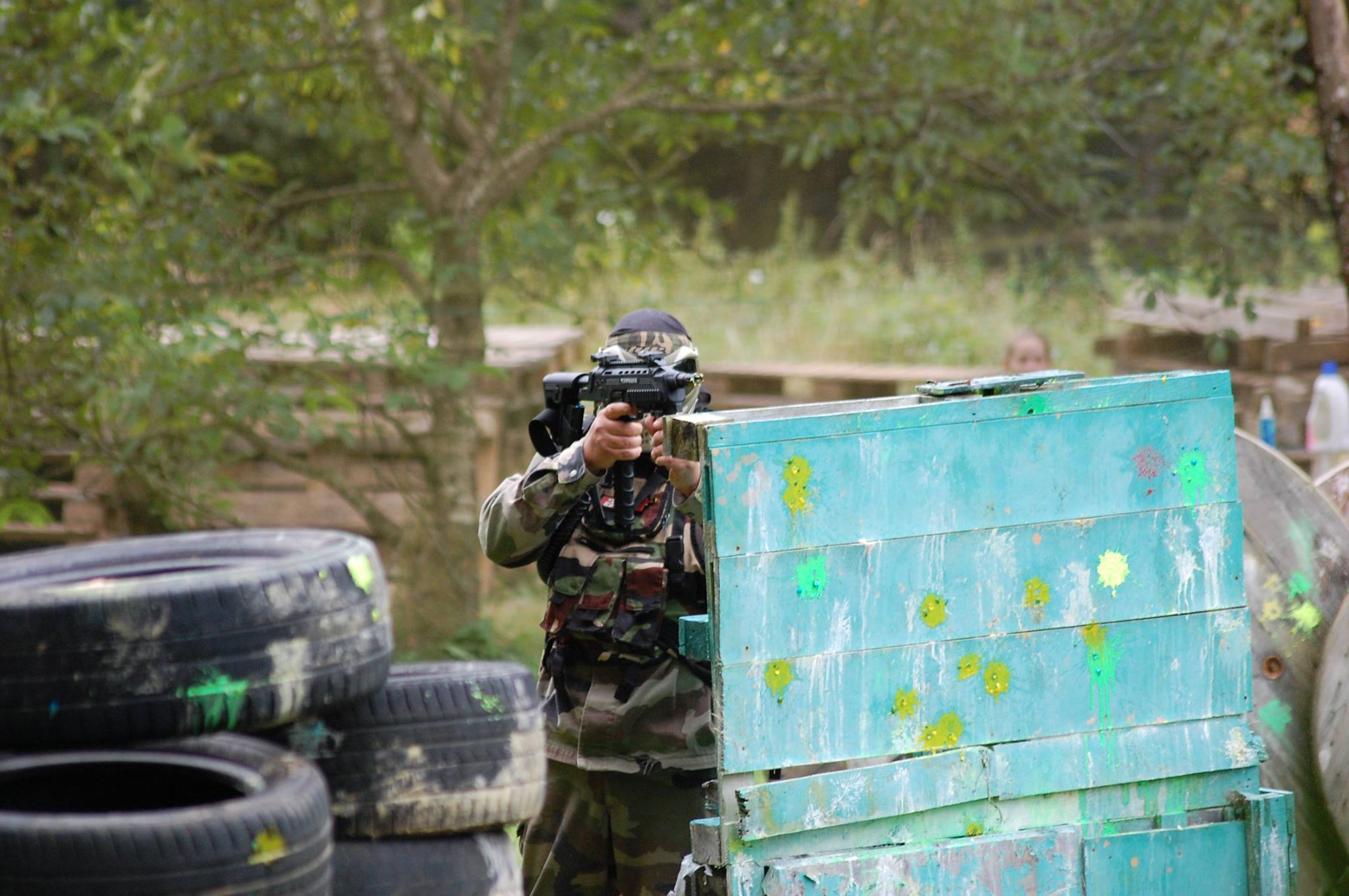Paintball quoi porter